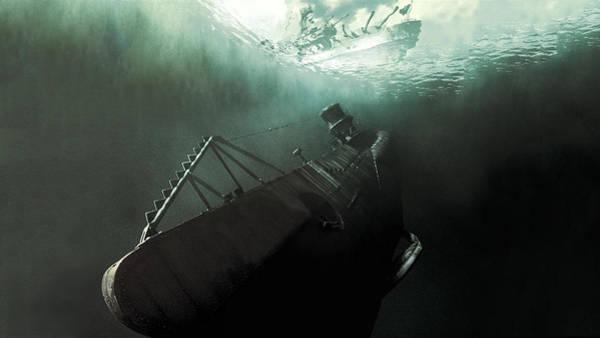 Water Digital Art - U-571 by Maye Loeser