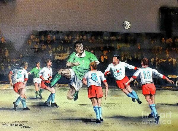 Painting - U Ah  Paul Magrath Ooooo by Val Byrne