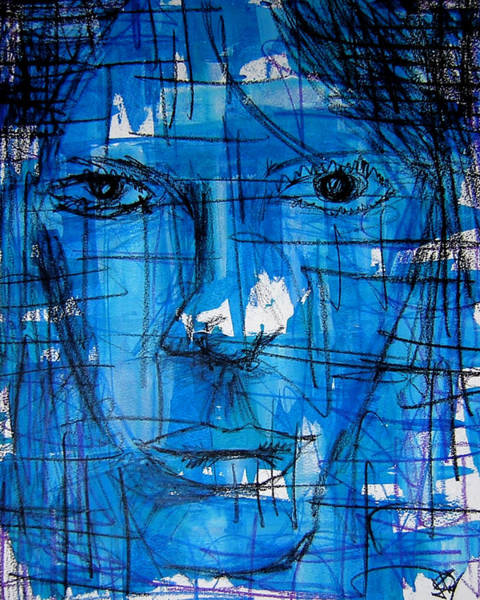 Influence Drawing - U M T H M N by Jera Sky