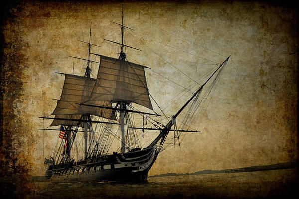 Uss George Washington Wall Art - Digital Art - U S S Constitution by Daniel Hagerman