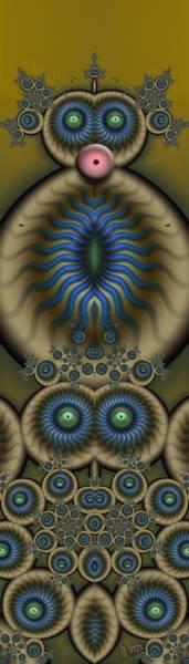 Grotesque Digital Art - u008 Laa-laa-laa-laa-la-la-la-laaa by Drasko Regul