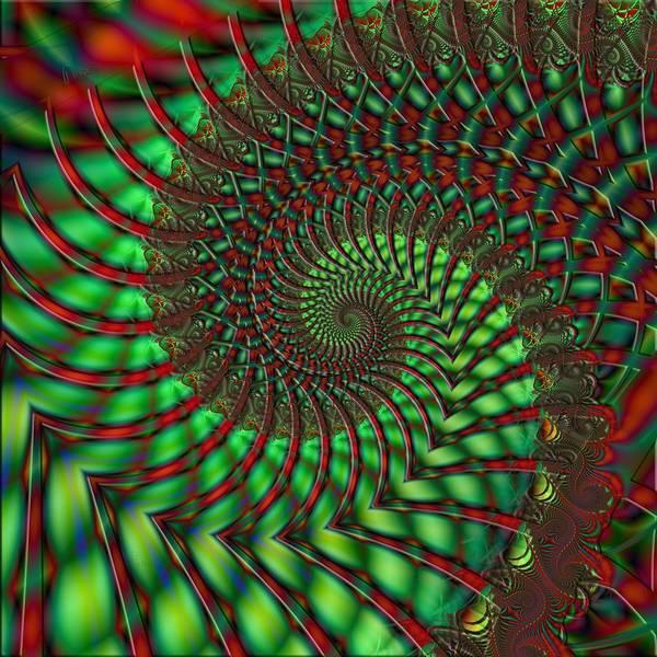 Self Similarity Digital Art - u013 Coloured Lace by Drasko Regul