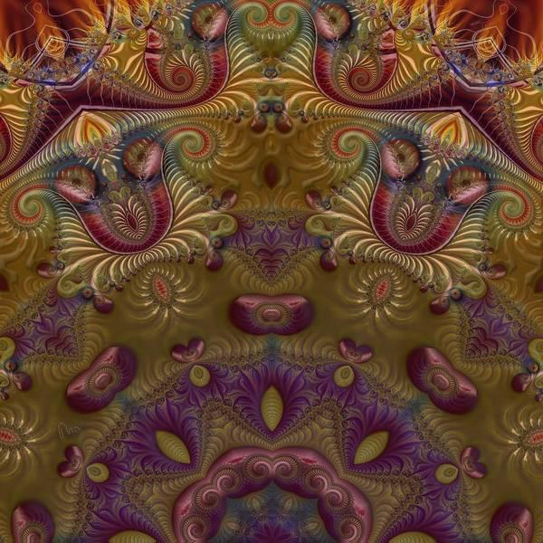 Self Similarity Digital Art - u041-3 4-Pic_Seasonery Autumn by Drasko Regul