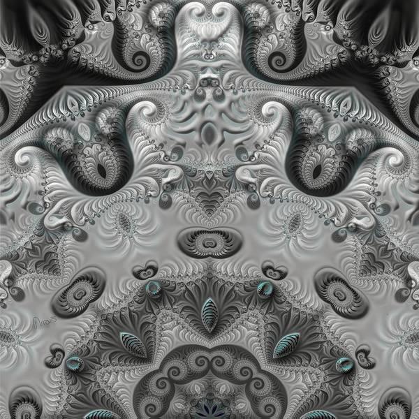 Self Similarity Digital Art - u041-4 4-Pic_Seasonery_Winter by Drasko Regul