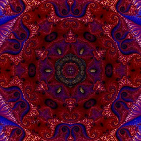 Self Similarity Digital Art - u041-x Strocake by Drasko Regul