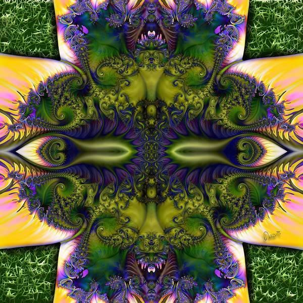 Self Similarity Digital Art - u048-b Stereo Bugdom By Day by Drasko Regul