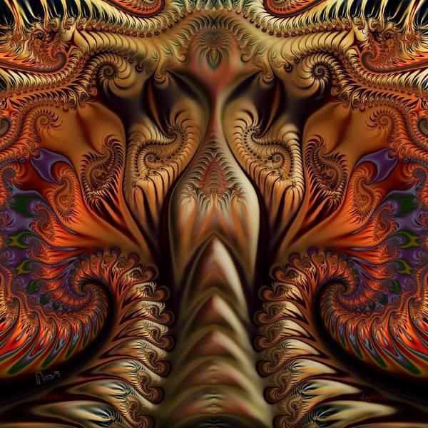 Self Similarity Digital Art - u050 Equilibrium by Drasko Regul