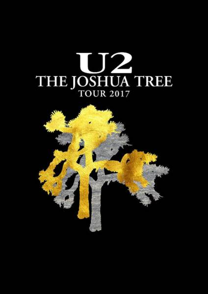 Joshua Wall Art - Digital Art - U2 Joshua Tree by Raisya Irawan