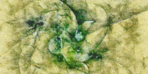 Lurksart Painting - Uakari Proportion  Id 16101-023101-56610 by S Lurk