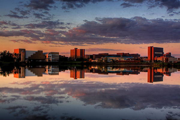Mac Photograph - Ub Campus Across The Pond by Don Nieman