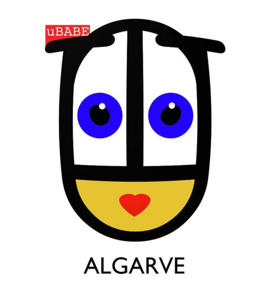 Digital Art - uBABE Algarve by Charles Stuart