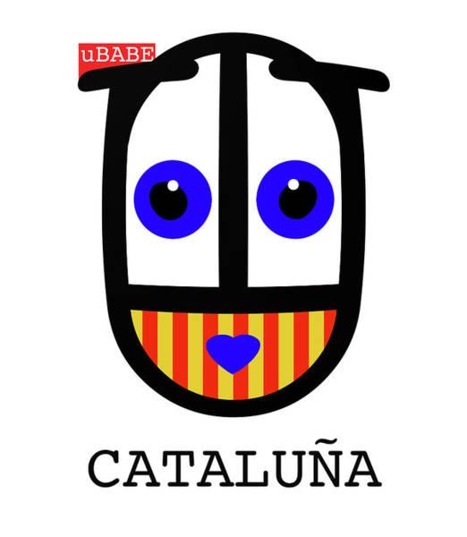 Digital Art - uBABE Catalonia by Charles Stuart