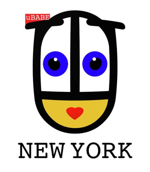 Painting - uBABE New York by Charles Stuart