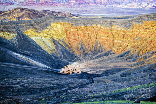 Wall Art - Photograph - Ubehebe Crater by Charles Dobbs