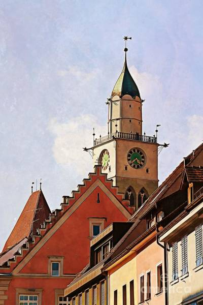 Photograph - Uberlingen Roofs by Tatiana Travelways