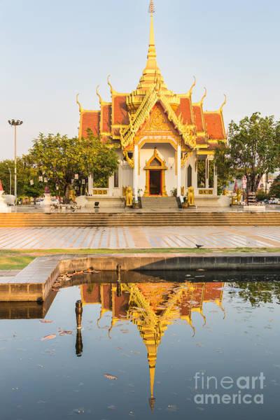 Photograph - Ubon Ratchatani Temple by Didier Marti
