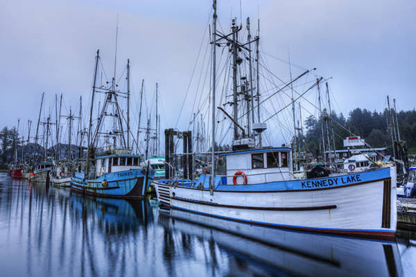 Photograph - Ucluelet Harbour  by Mark Kiver