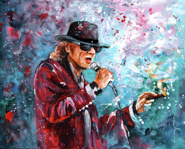 Painting - Udo Lindenberg 01 by Miki De Goodaboom