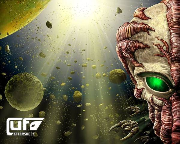 Alien Digital Art - UFO by Maye Loeser