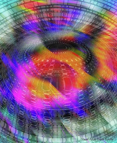 Digital Art - UFO by Visual Artist Frank Bonilla