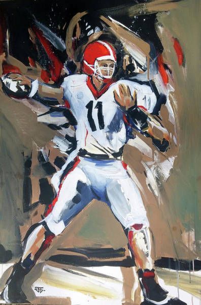 Painting - Uga From by John Jr Gholson