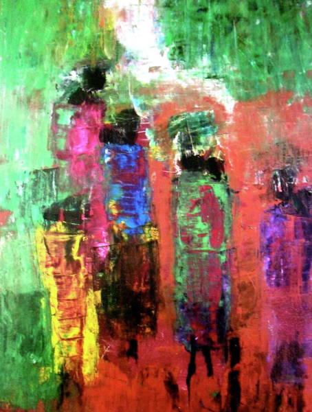 Uganda Painting - Ugandan Women  by Ginnie Laroi