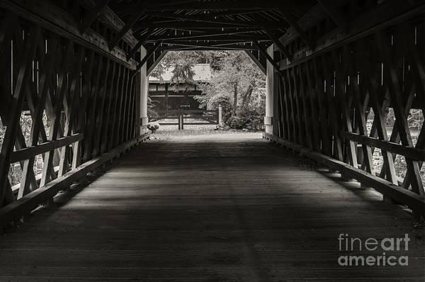 Photograph - Uhlerstown Covered Bridge IIi by Debra Fedchin
