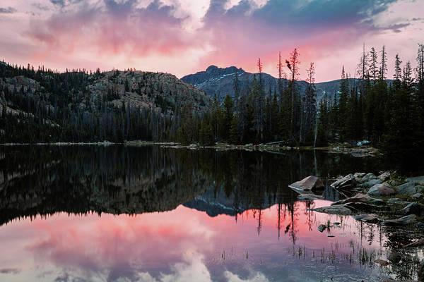 Photograph - Uinta Sunrise Reflection by Johnny Adolphson