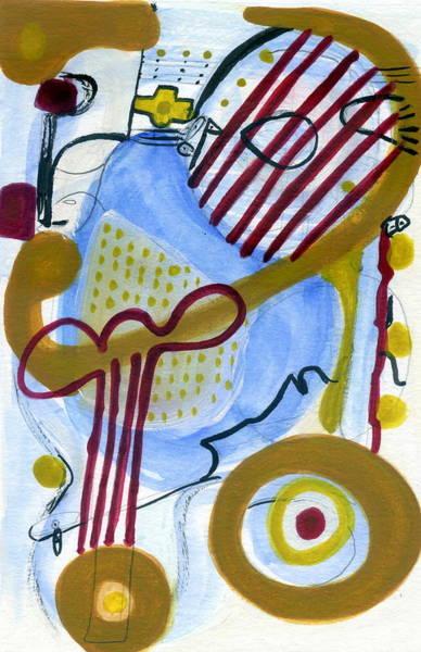 Painting - Ukulele Mele by Stephen Lucas