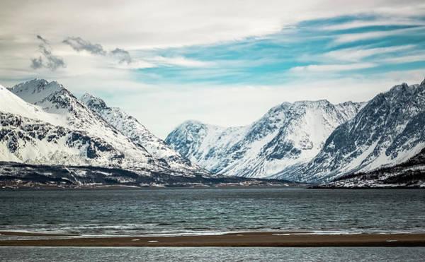 Photograph - Ullsfjord From Breivikeidet Near Tromso Norway by Adam Rainoff