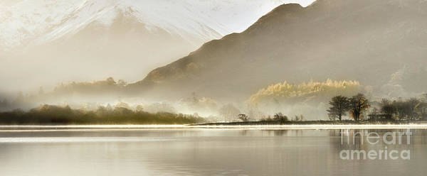 Glenridding Wall Art - Photograph - Autumn Sunrise Ullswater by Janet Burdon
