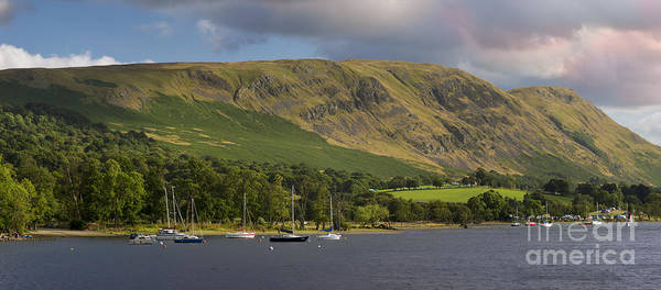 Pooley Bridge Wall Art - Photograph - Ullswater Lake by Brian Jannsen