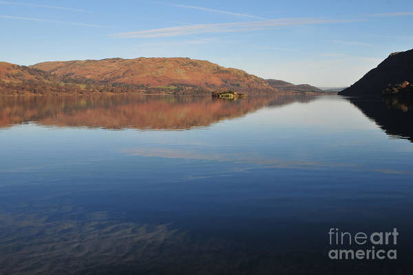 District Wall Art - Photograph - Ullswater by Smart Aviation