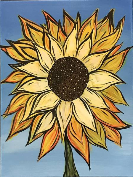 Wall Art - Painting - Ultimate Daisy by Willy Proctor