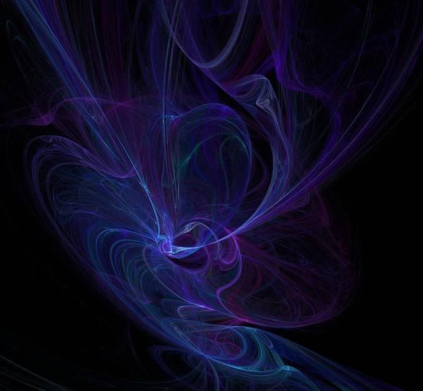 Digital Art - Ultra Violet .  by Marina Usmanskaya