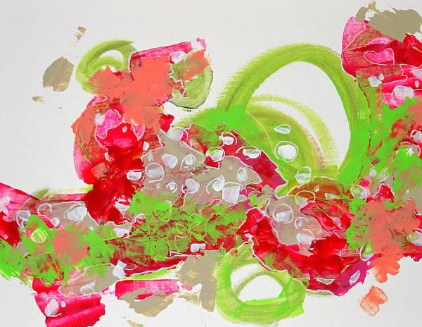 Videogame Painting - Ultros Ice-cream Sundae by James Beech