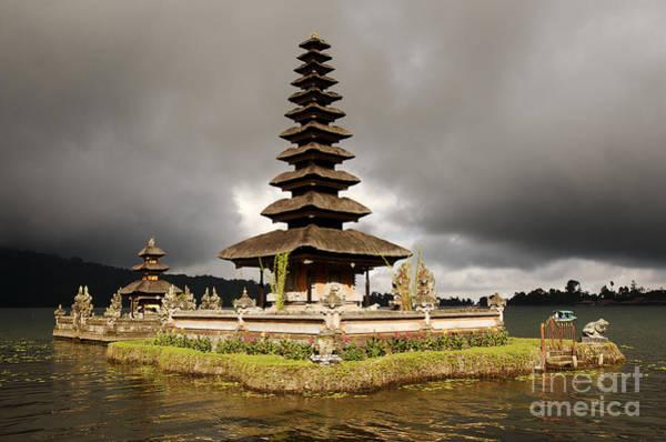 Wall Art - Photograph - Ulu Danu Temple by Steve Rosenberg - Printscapes