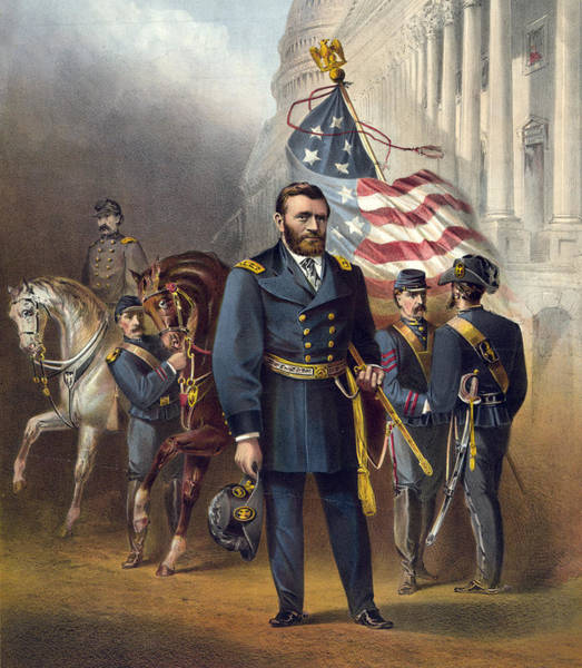 Wall Art - Photograph - Ulysses S Grant - President Of The United States by International  Images