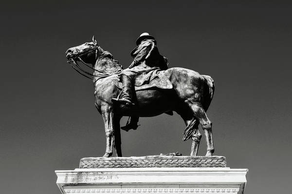 Photograph - Ulysses S. Grant Statue  by Brandon Bourdages