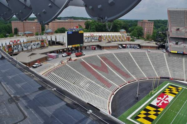 Recent Photograph - University Of Maryland by Bob Geary