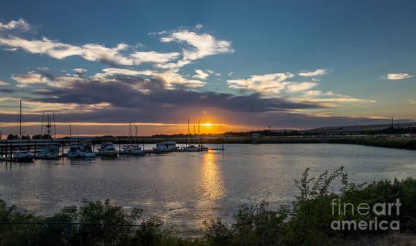 Wall Art - Photograph - Umatilla Marina At Sunset by Robert Bales