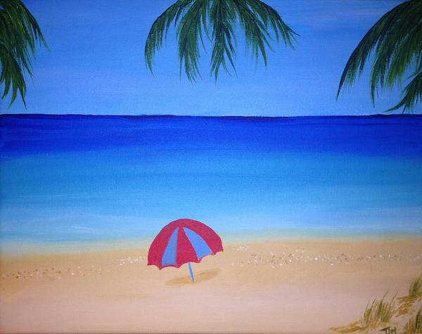 Wall Art - Painting - Umbrella For Rosy by Mesa Teresita