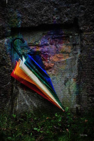 Photograph - Umbrella In A Corner by Randi Grace Nilsberg