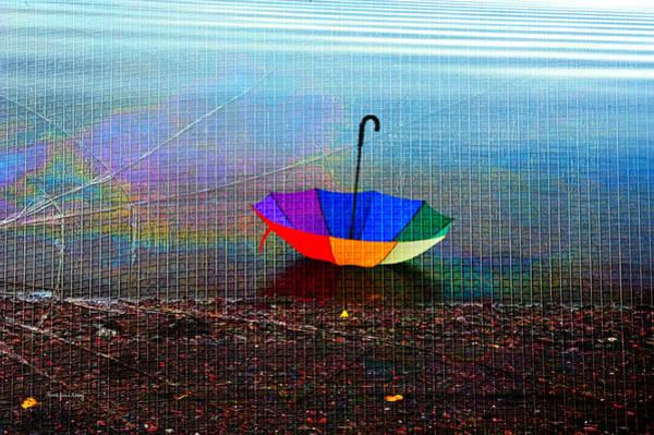 - Umbrella On The Beach  by Randi Grace Nilsberg