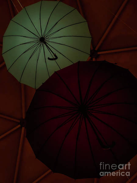 Umbrellas Art Print