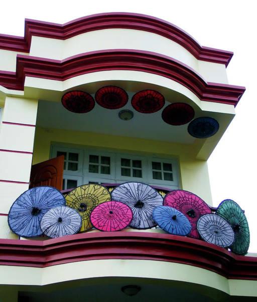 Photograph - Umbrellas Galore by Kurt Van Wagner