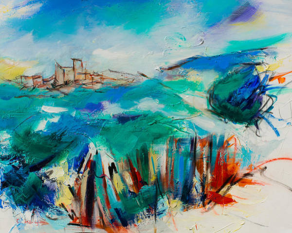 Painting - Umbria By Elise Palmigiani by Elise Palmigiani