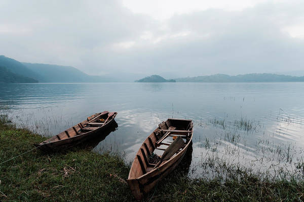 Umiam Lake, Shillong, India Art Print