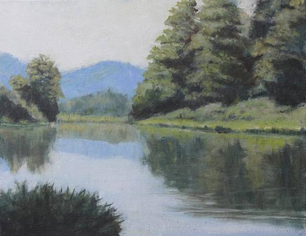 Painting - Umpqua River by Dennis Sullivan