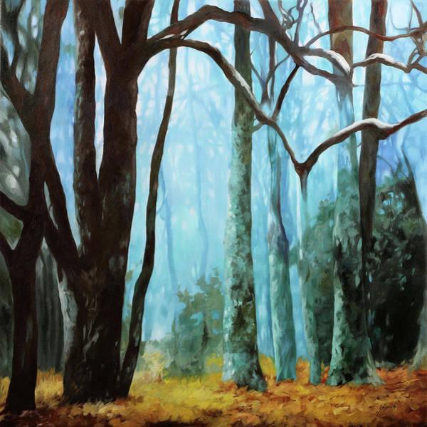 Painting - Un Bosco Azzurro by Guido Borelli